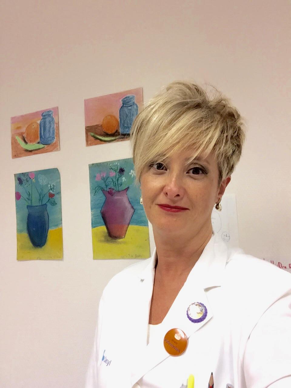0df85f7697c1 Dra Virginia Ruiz. Radiooncóloga en el Hospital Universitario de Burgos