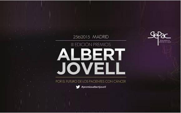 III PREMIOS ALBERT JOVELL 2015